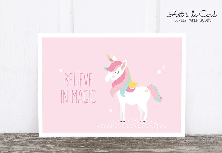 Bild 1 von Postkarte: Believe in magic