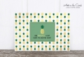 Holzschliff-Postkarte: One pineapple a day ... M