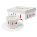 Trend Espresso Gift Box: Tree Parade, real gold