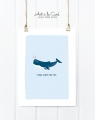 Kunstdruck: I whale always love you!